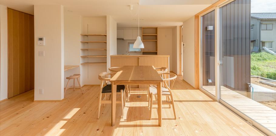 福井県で建築・家を建てる ケーシュウ・ワークス
